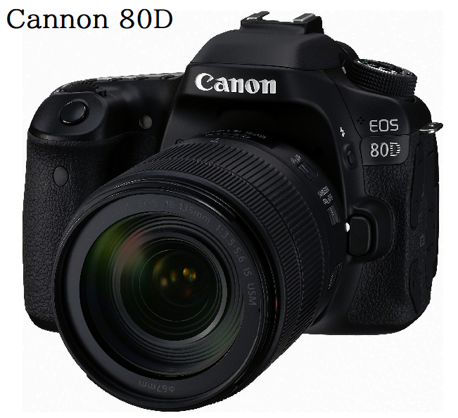 Canon 80D Camera Black Friday