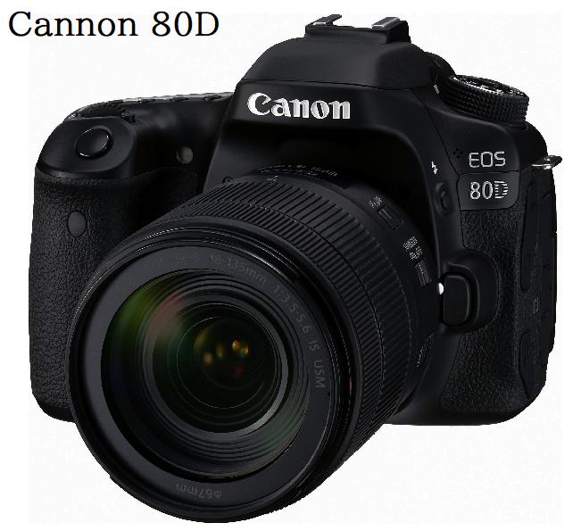 Canon 80D Camera Black Friday
