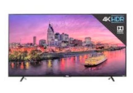 TCL 55P605 4K UHD TV Black Friday