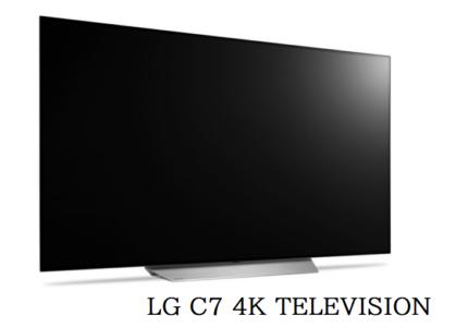 LG C7 4K TELEVISION Black Friday