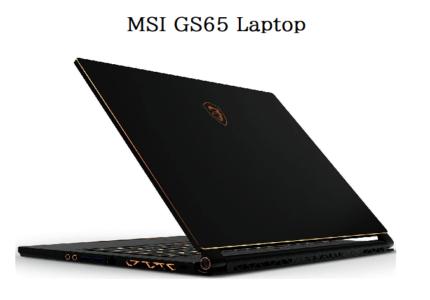 MSI GS65 Laptop Black Friday