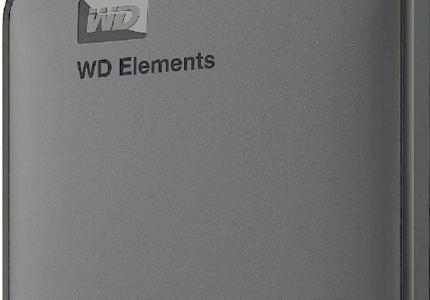 WD Elements Hard Disk Drive Black Friday