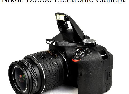 Nikon D3300 Electronic Camera Black Friday