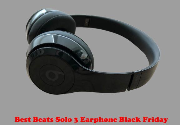 Best Beats Solo 3 Earphone Black Friday
