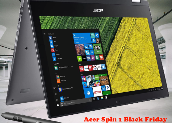 Acer Spin 1 Black Friday
