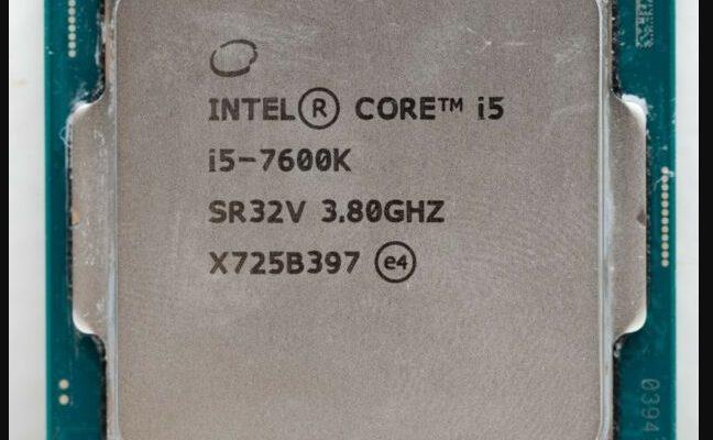 Intel Core i5 7600K Black Friday