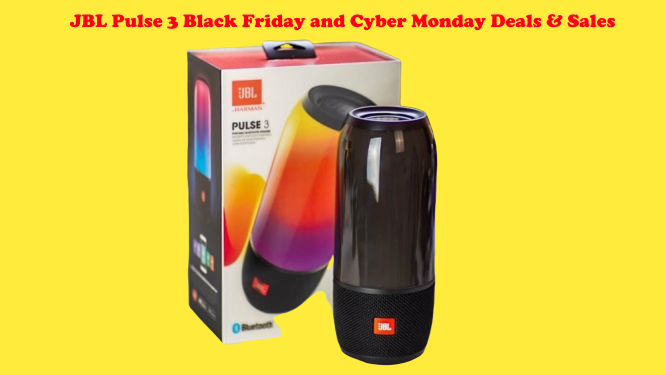 JBL Pulse 3 Black Friday and Cyber Monday Deals & Sales