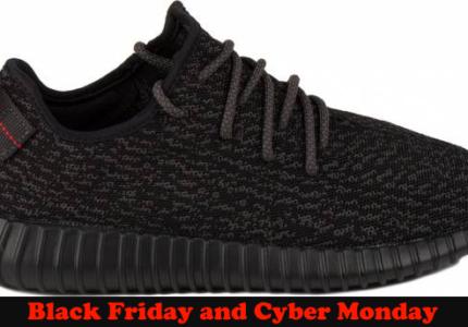 Adidas Yeezy Boost Black Friday