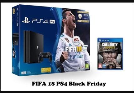 FIFA 18 PS4 Black Friday