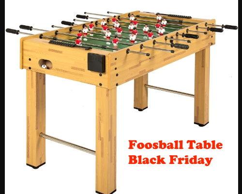 Foosball Table Black Friday