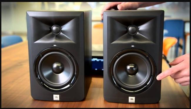 JBL LSR305 Studio Monitor Black Friday