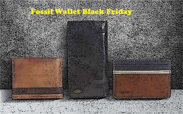 Fossil Wallet Black Friday