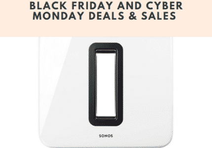 Sonos Sub Black Friday
