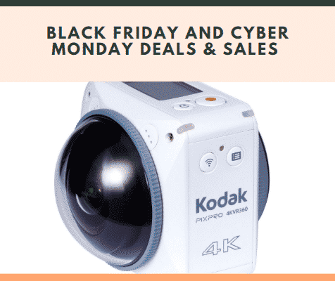 Kodak Pixpro 4KVR360 Black Friday