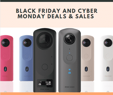 Ricoh Theta S Black Friday