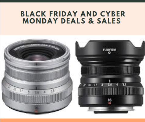 Fujifilm Fujinon XF16mm F2.8 R WR Black Friday