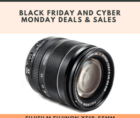 Fujifilm Fujinon XF18-55mm F2.8-4 R LM OIS Black Friday