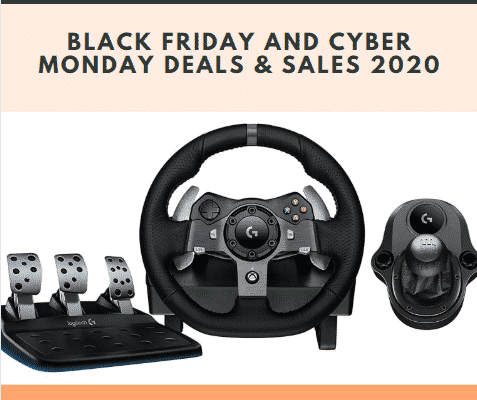 Logitech G920 Black Friday