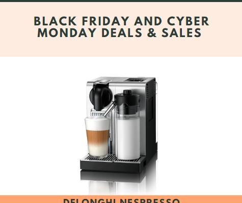 Delonghi Nespresso Lattissima Pro Black Friday