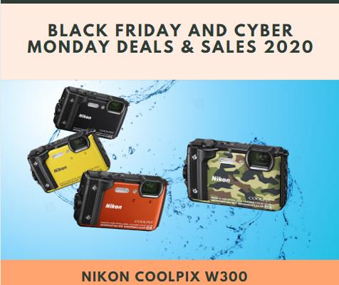 Nikon Coolpix W300 Black Friday