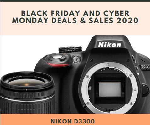 Nikon D3300 Black Friday