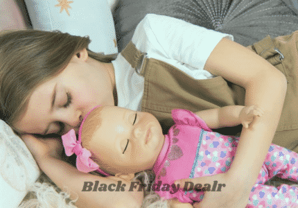 luvabella black friday cyber monday deals responsive baby doll